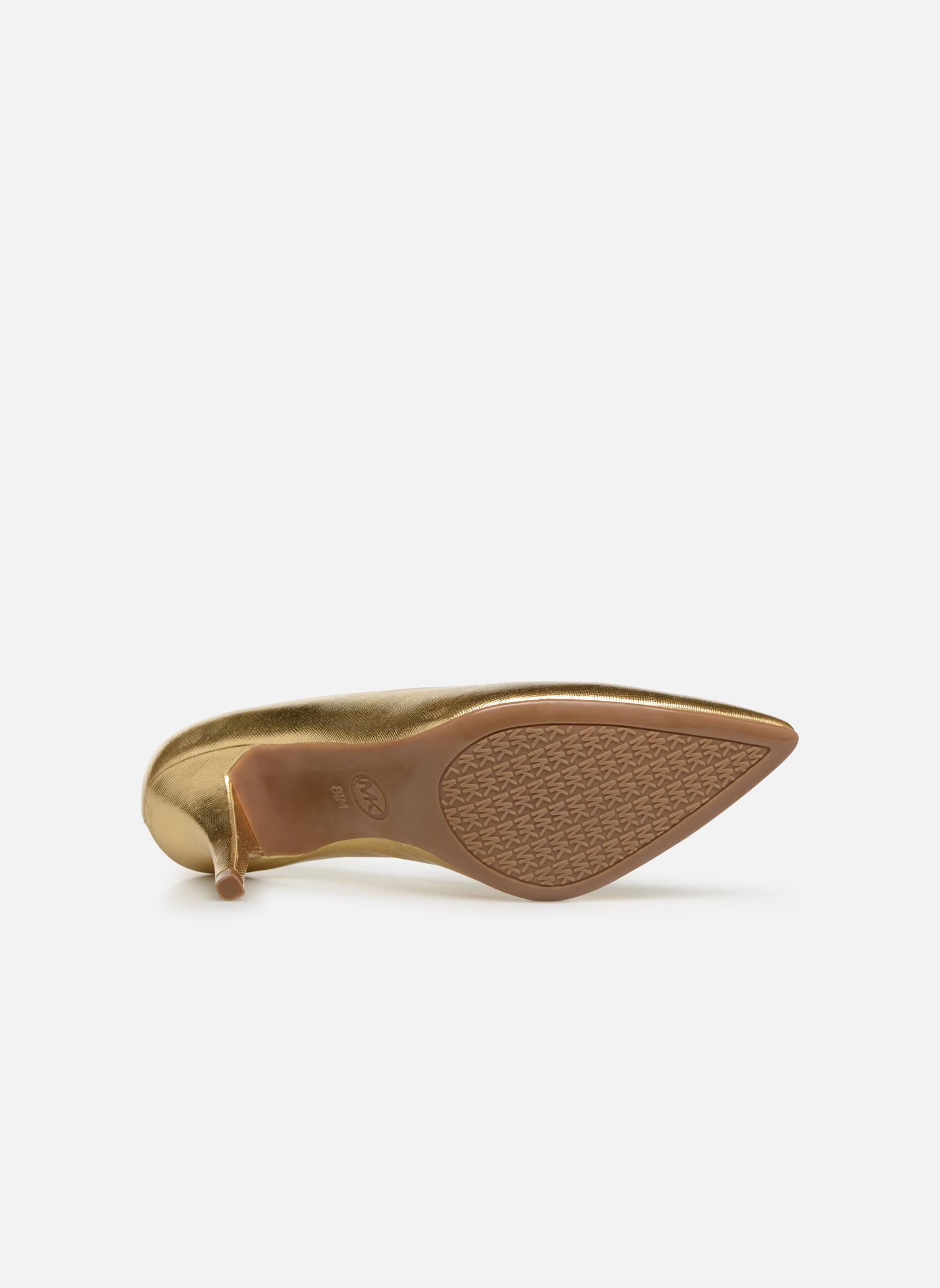 Pumps Michael Michael Kors MK Flex Mid Pump W gold/bronze ansicht von oben