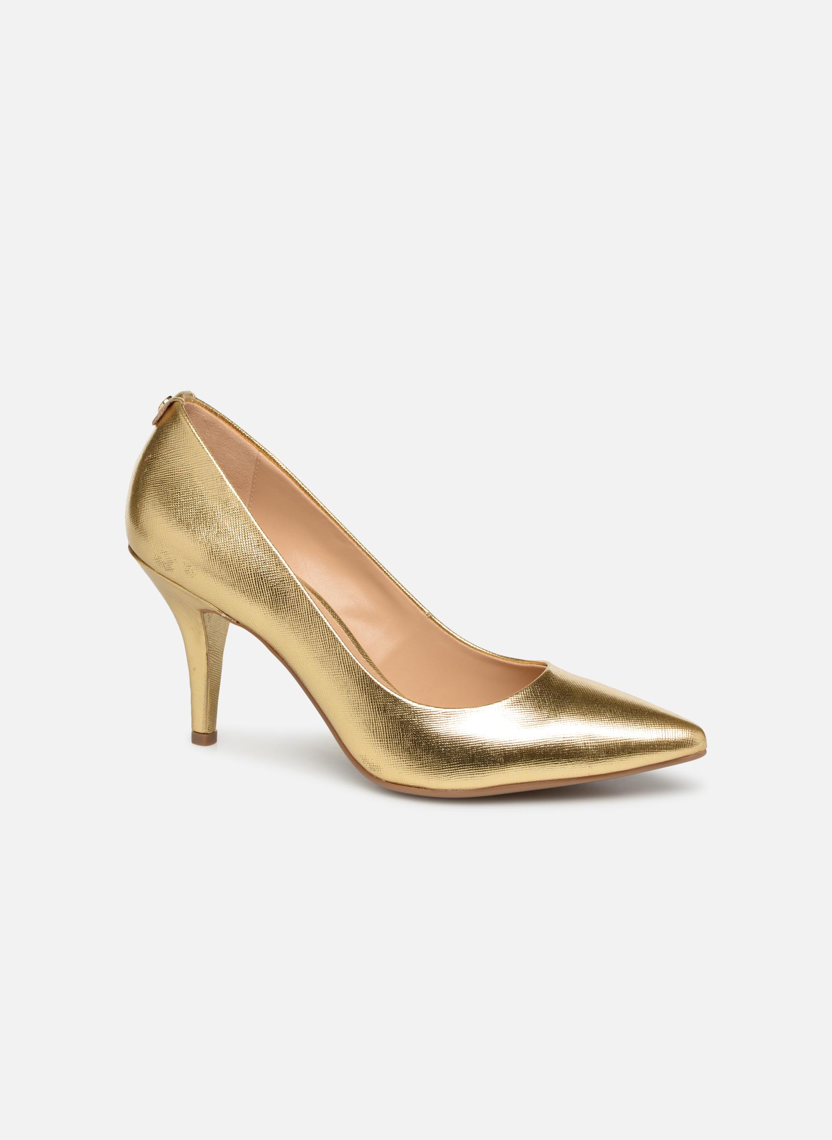 Pumps Michael Michael Kors MK Flex Mid Pump W gold/bronze detaillierte ansicht/modell