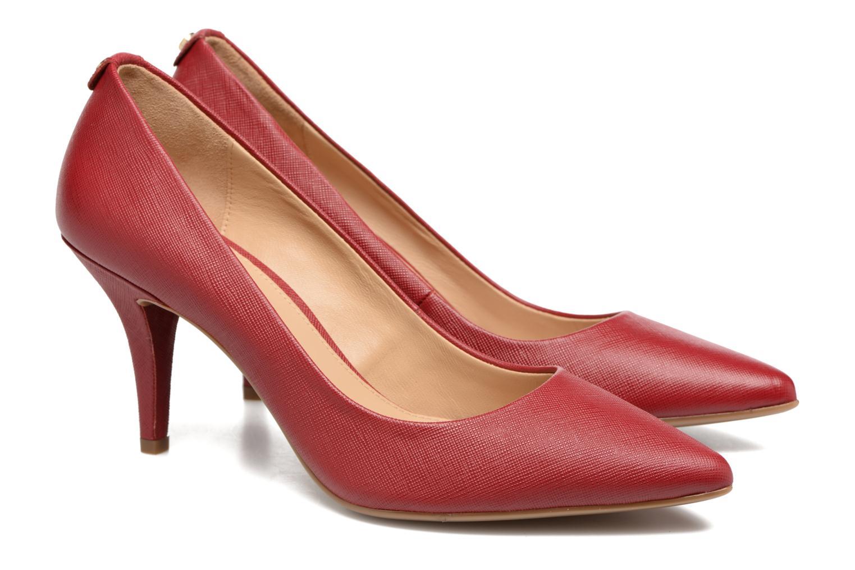 High heels Michael Michael Kors MK Flex Mid Pump W Red 3/4 view
