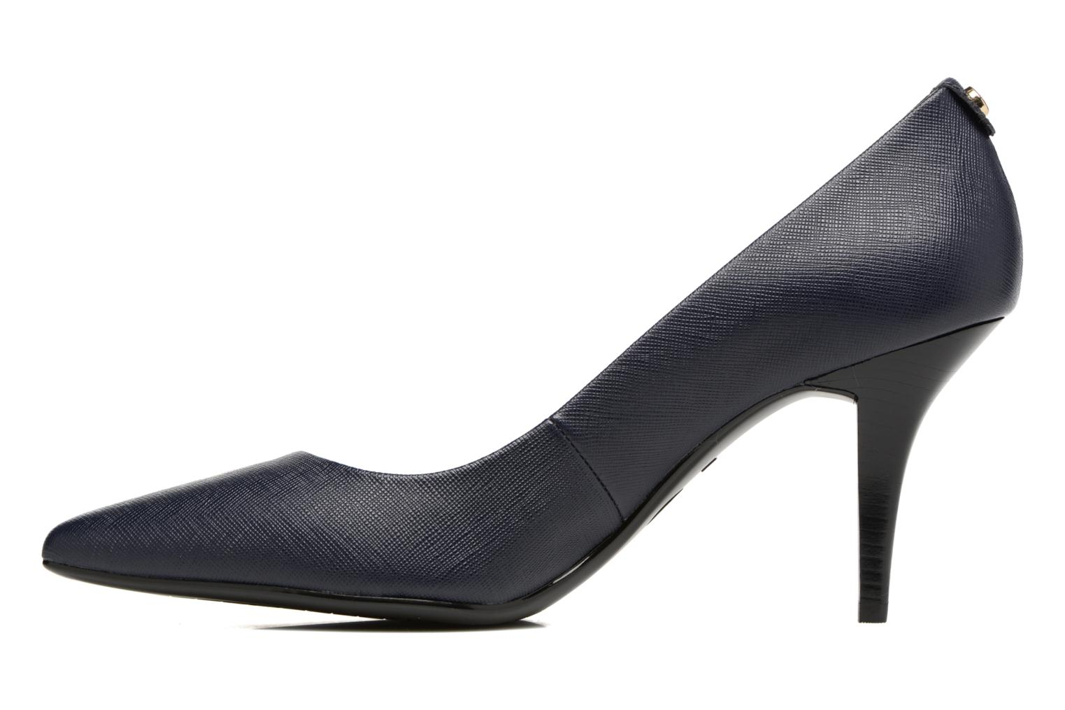 High heels Michael Michael Kors MK-Flex Mid Pump Blue front view