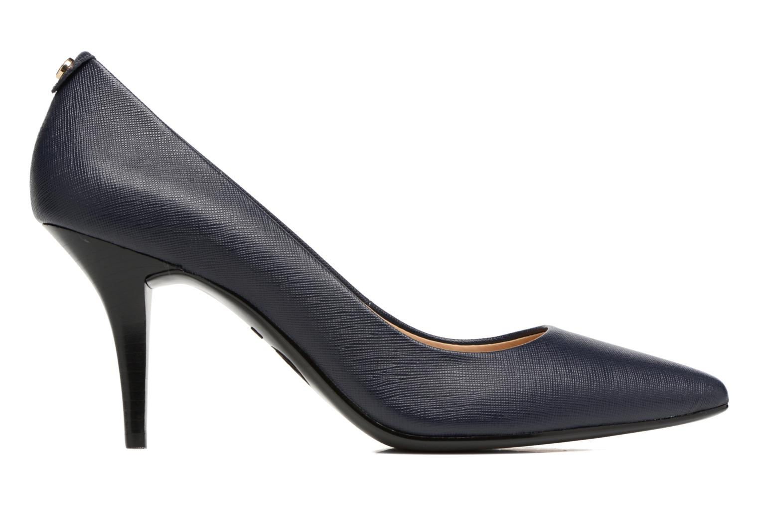 High heels Michael Michael Kors MK-Flex Mid Pump Blue back view