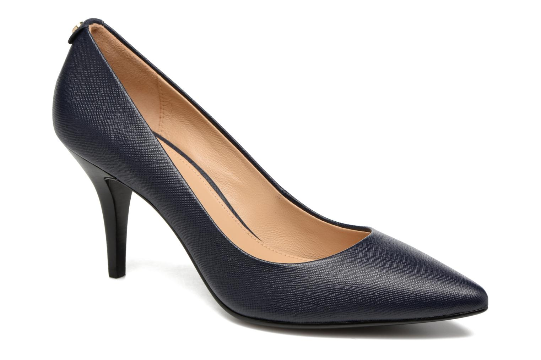 High heels Michael Michael Kors MK Flex Mid Pump W Blue detailed view/ Pair view