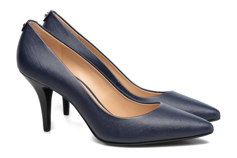 Zapatos de tacón Michael Michael Kors MK Flex Mid Pump W Azul vista 3/4