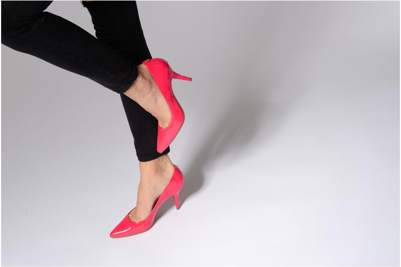 Zapatos de tacón Michael Michael Kors MK Flex Mid Pump W Azul vista de abajo