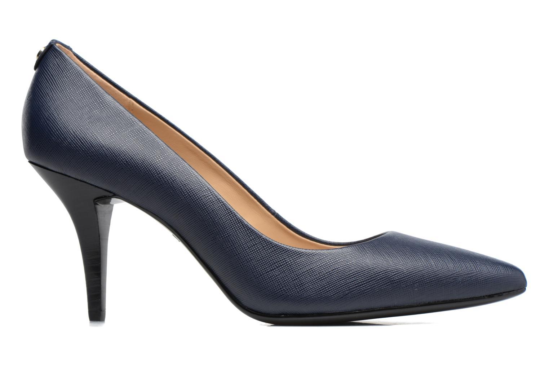 Zapatos de tacón Michael Michael Kors MK Flex Mid Pump W Azul vistra trasera