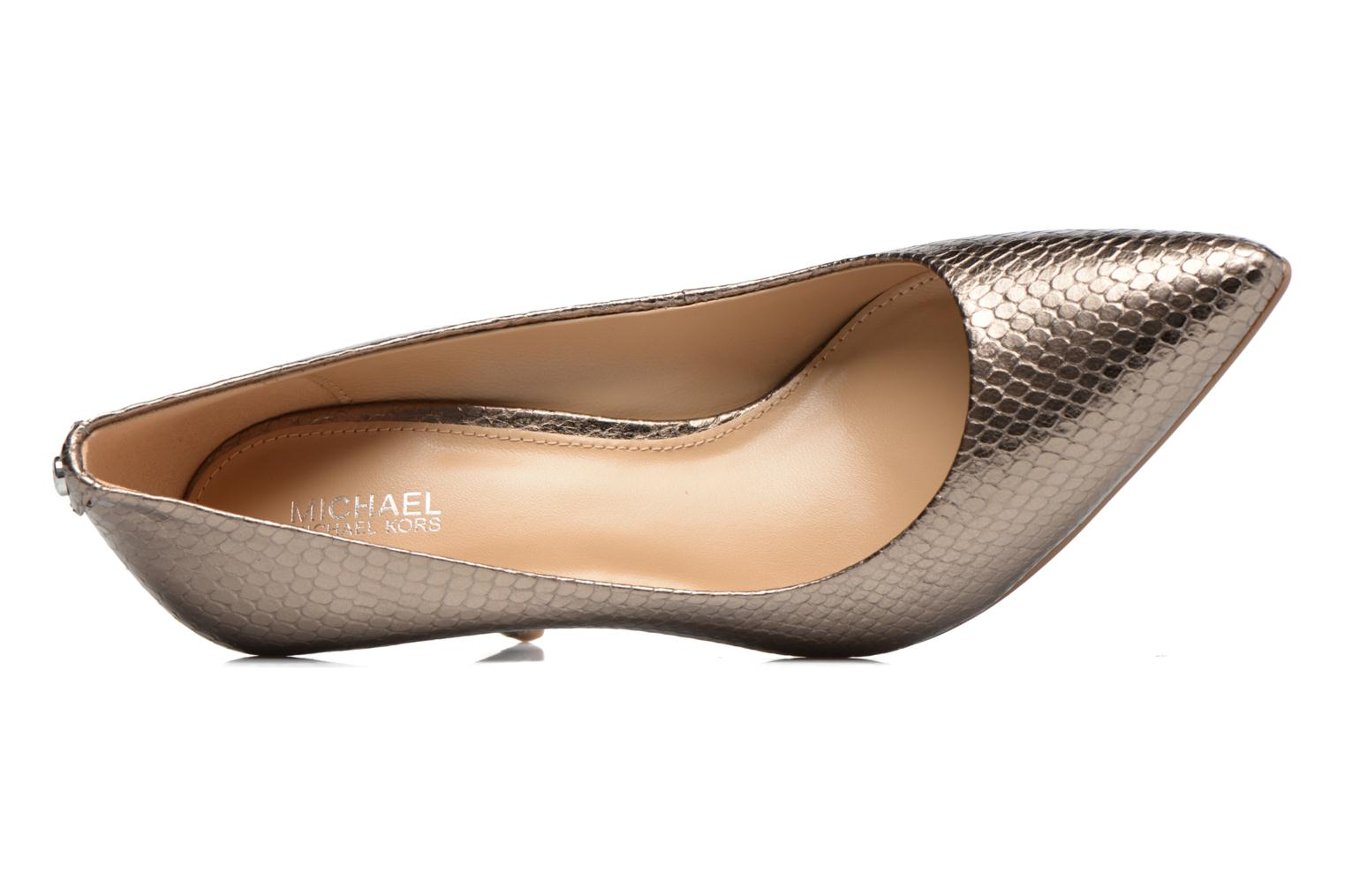 High heels Michael Michael Kors MK-Flex Mid Pump Bronze and Gold view from the left