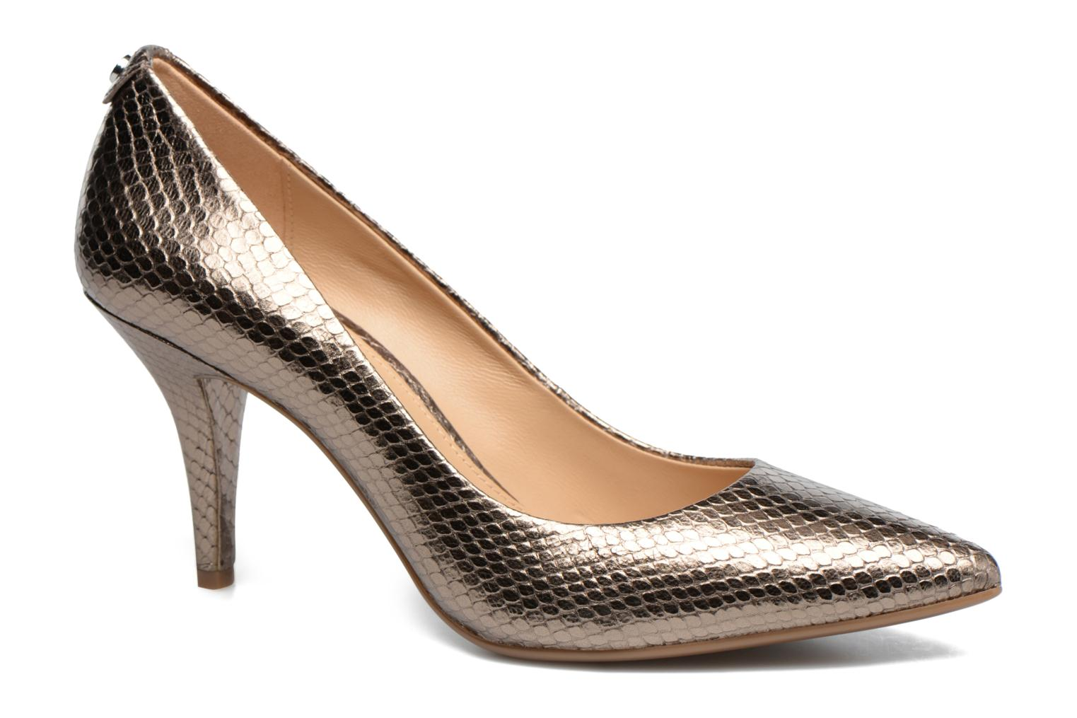 High heels Michael Michael Kors MK Flex Mid Pump W Bronze and Gold detailed view/ Pair view