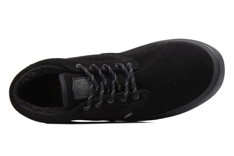 Chaussures de sport Element Preston Noir vue gauche