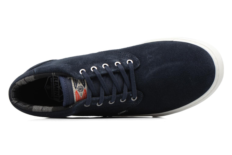 Chaussures de sport Element Preston Bleu vue gauche