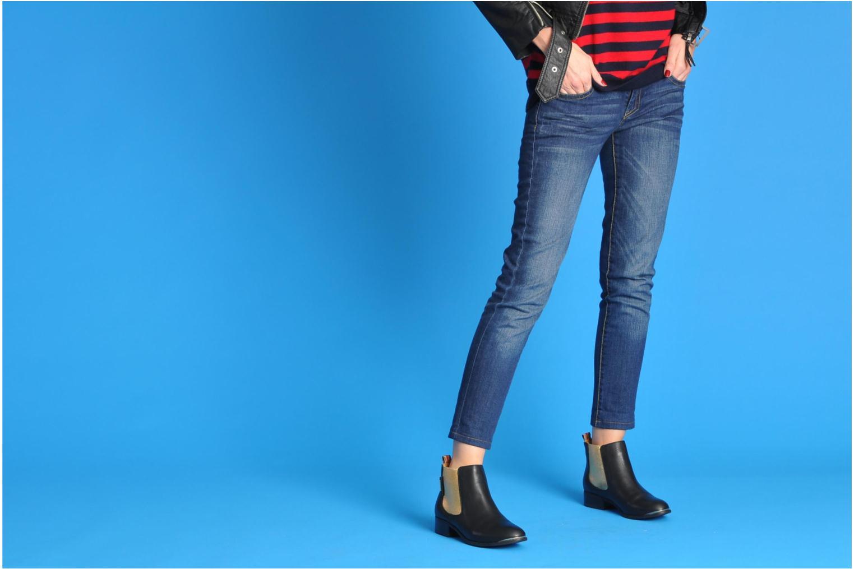Bottines et boots Pepe jeans Columbia Noir vue bas / vue portée sac