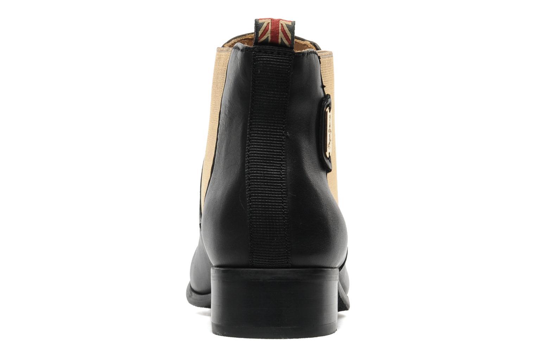 Bottines et boots Pepe jeans Columbia Or et bronze vue droite