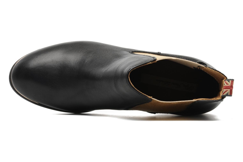 Bottines et boots Pepe jeans Columbia Or et bronze vue gauche