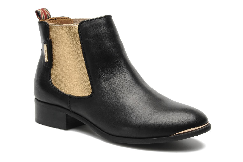 Bottines et boots Pepe jeans Columbia Or et bronze vue détail/paire