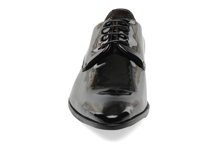 Schnürschuhe Marvin&Co Narlo schwarz schuhe getragen