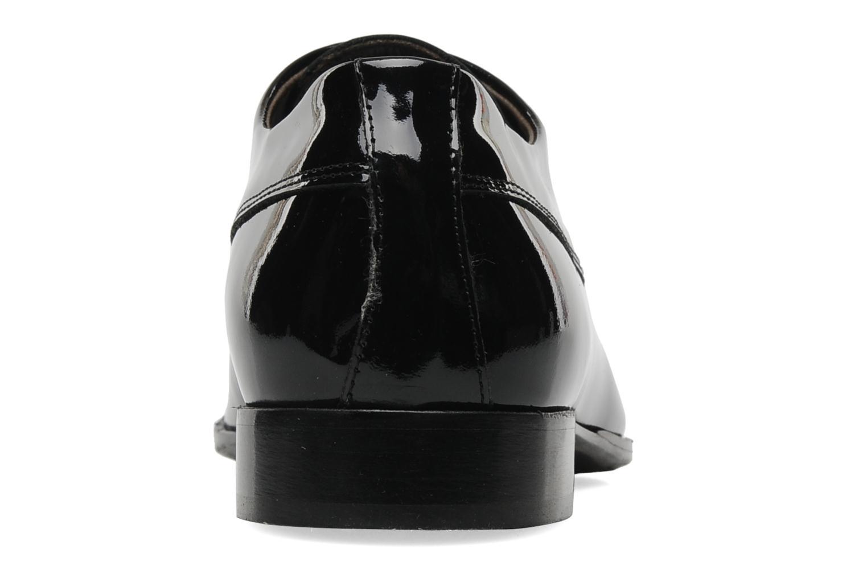 Schnürschuhe Marvin&Co Narlo schwarz ansicht von rechts