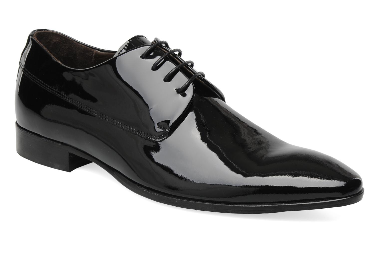 Schnürschuhe Marvin&Co Narlo schwarz detaillierte ansicht/modell