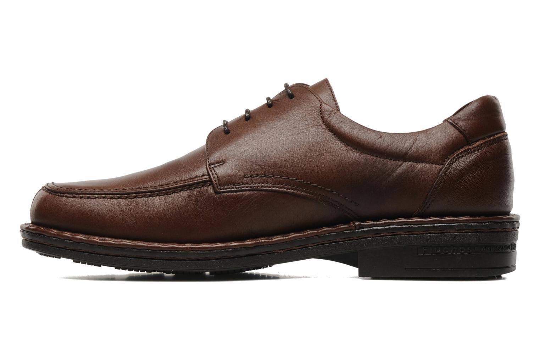 Chaussures à lacets Fluchos Roberto 8137 Marron vue face
