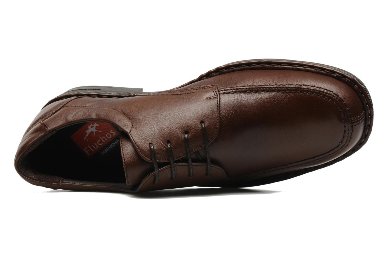 Chaussures à lacets Fluchos Roberto 8137 Marron vue gauche