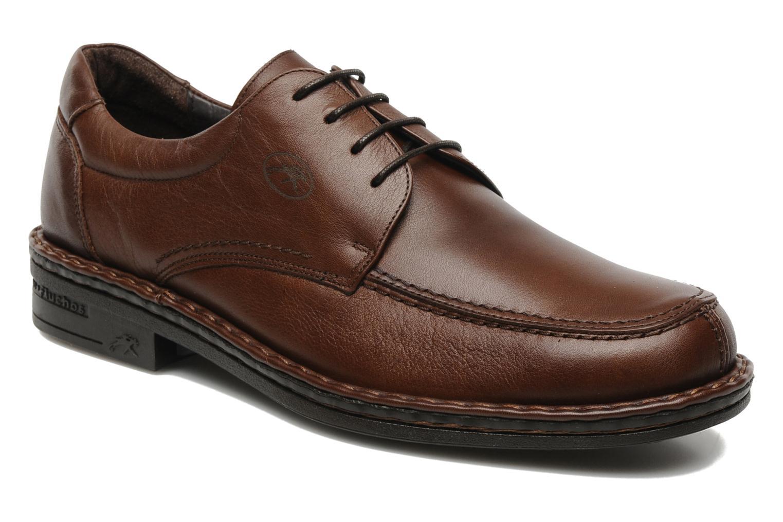 Chaussures à lacets Fluchos Roberto 8137 Marron vue détail/paire