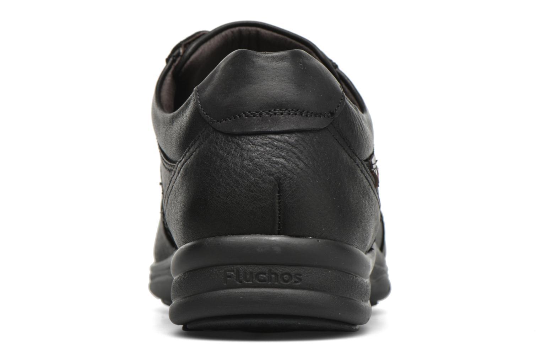 Chaussures à lacets Fluchos Jesus 8403 Noir vue droite