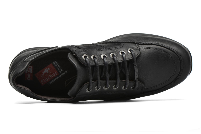 Chaussures à lacets Fluchos Jesus 8403 Noir vue gauche