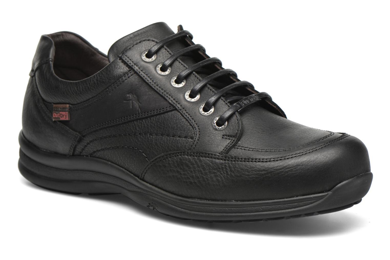 Chaussures à lacets Fluchos Jesus 8403 Noir vue détail/paire