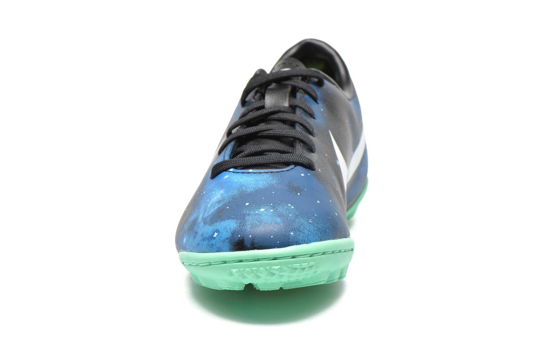 Chaussures de sport Nike Jr Mercurial Victory IV CR TF Bleu vue portées chaussures
