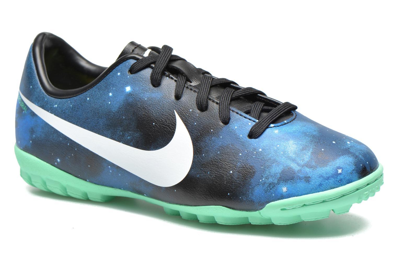 Chaussures de sport Nike Jr Mercurial Victory IV CR TF Bleu vue détail/paire