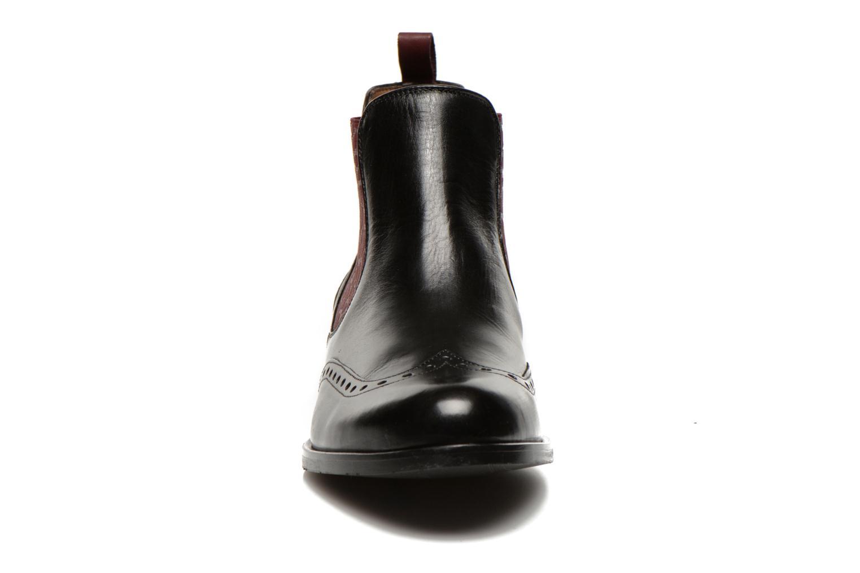 Bottines et boots Georgia Rose Perle Noir vue portées chaussures