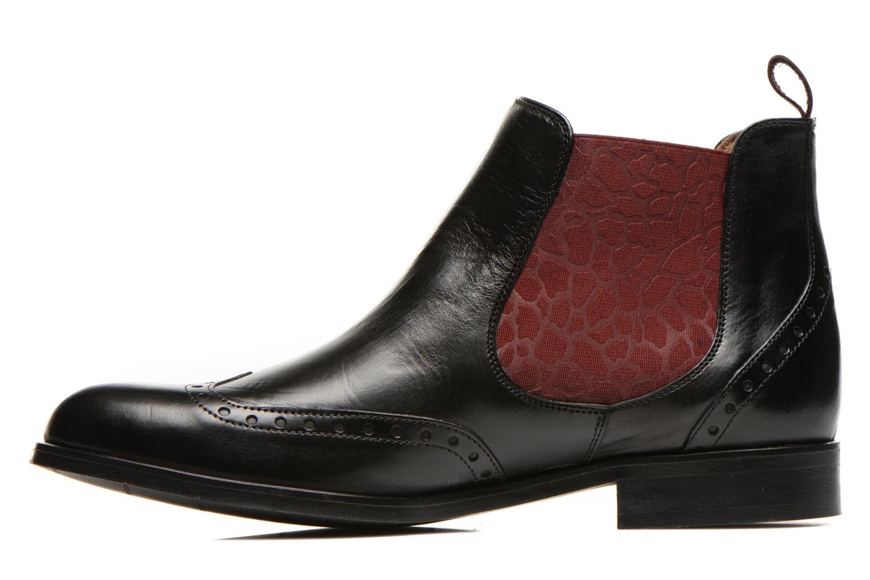 Bottines et boots Georgia Rose Perle Noir vue face