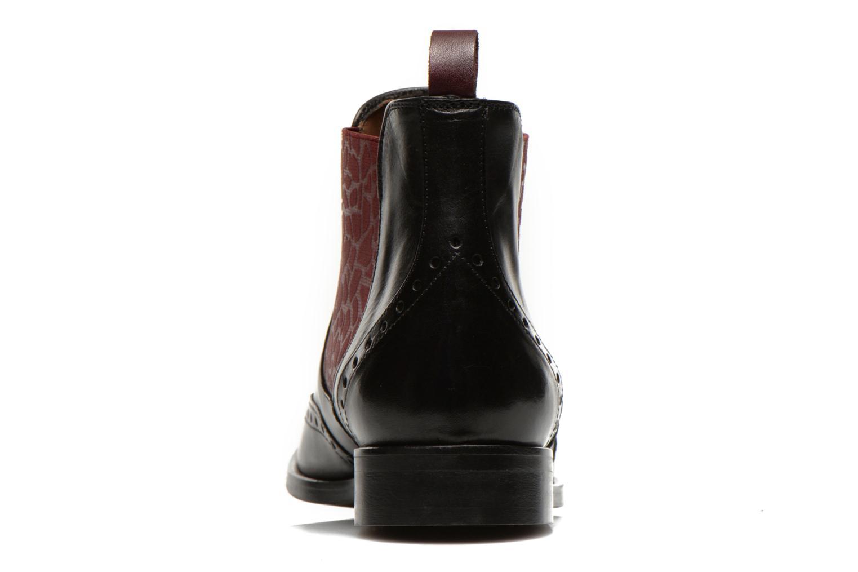 Bottines et boots Georgia Rose Perle Noir vue droite