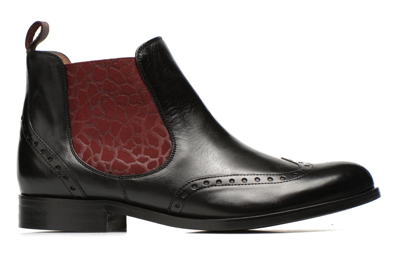 Bottines et boots Georgia Rose Perle Noir vue derrière
