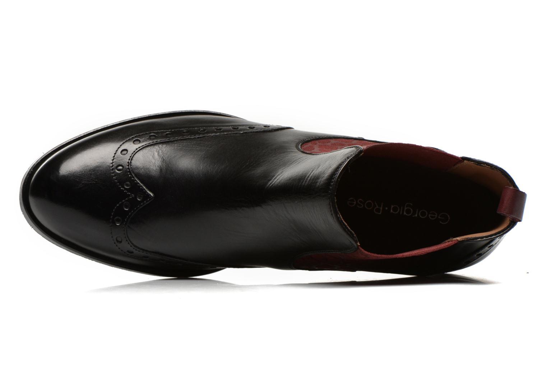 Bottines et boots Georgia Rose Perle Noir vue gauche
