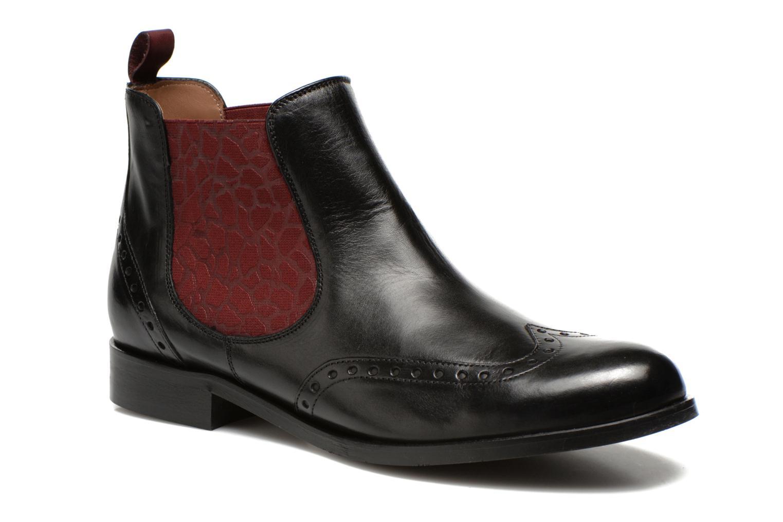 Bottines et boots Georgia Rose Perle Noir vue détail/paire