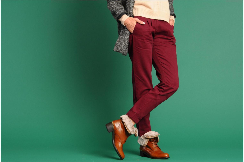 Stiefeletten & Boots Georgia Rose Permoute braun ansicht von unten / tasche getragen