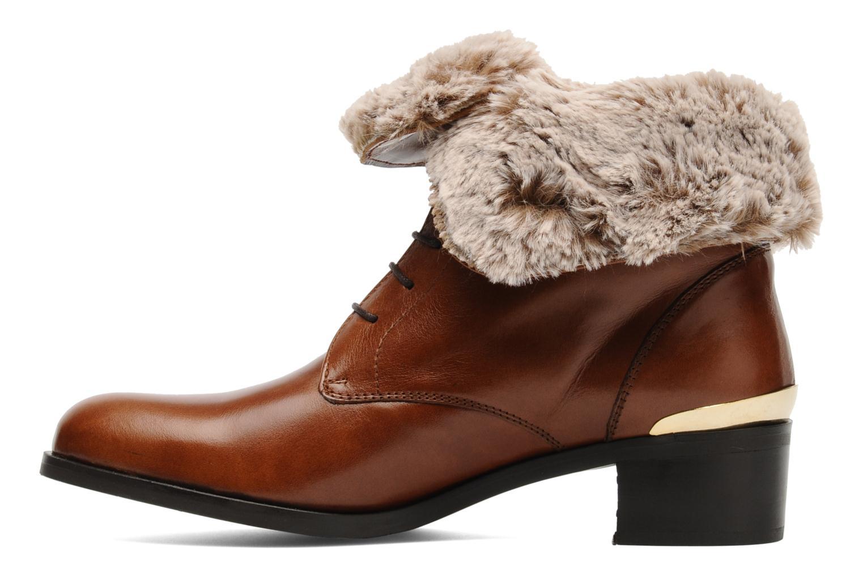 Bottines et boots Georgia Rose Permoute Marron vue face