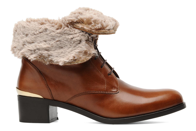 Bottines et boots Georgia Rose Permoute Marron vue derrière