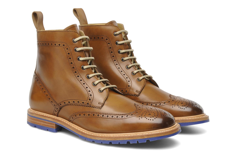 Bottines et boots Marvin&Co Luxe Wladimir Marron vue 3/4