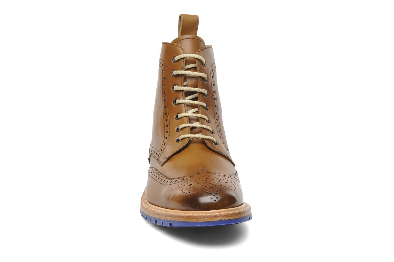 Bottines et boots Marvin&Co Luxe Wladimir Marron vue portées chaussures