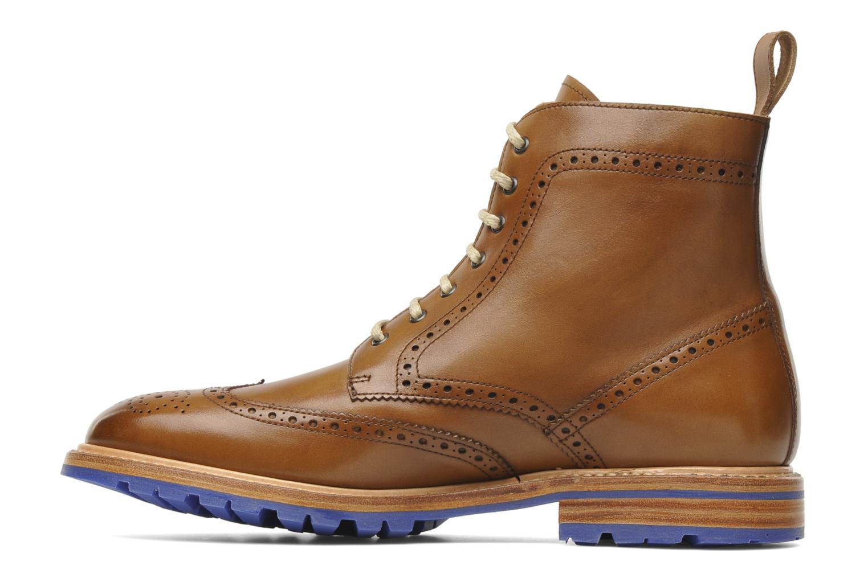 Bottines et boots Marvin&Co Luxe Wladimir Marron vue face