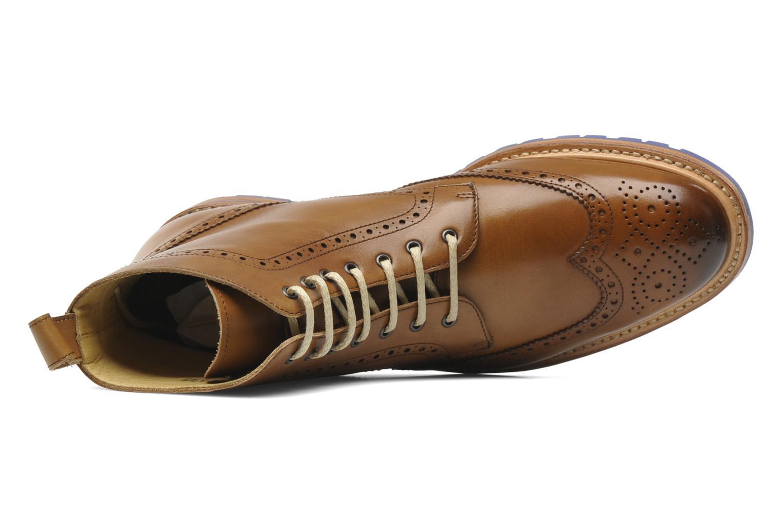 Stiefeletten & Boots Marvin&Co Luxe Wladimir braun ansicht von links