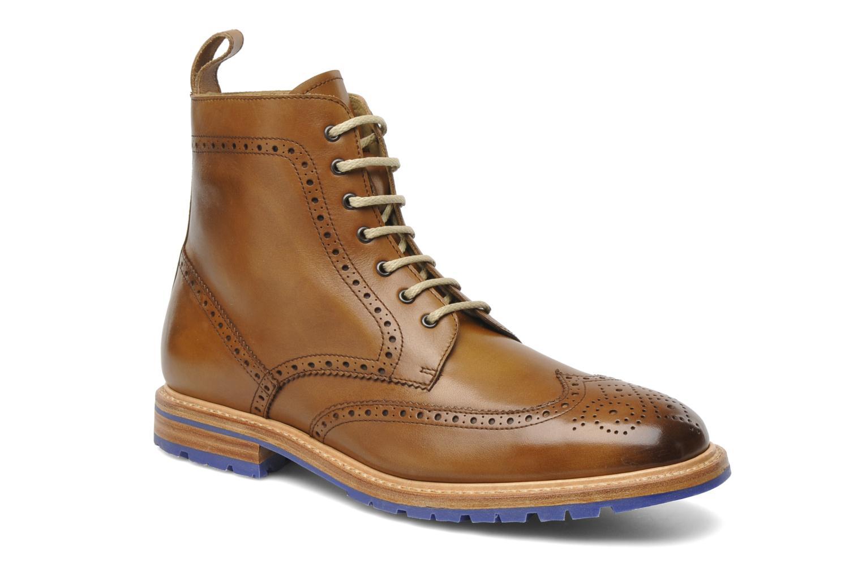 Bottines et boots Marvin&Co Luxe Wladimir Marron vue détail/paire