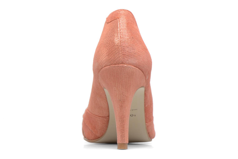 Zapatos de tacón Jonak Acide Naranja vista lateral derecha