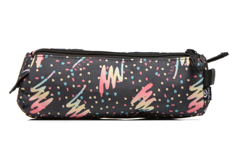 Double Pencil case Dots Dark blue 3155