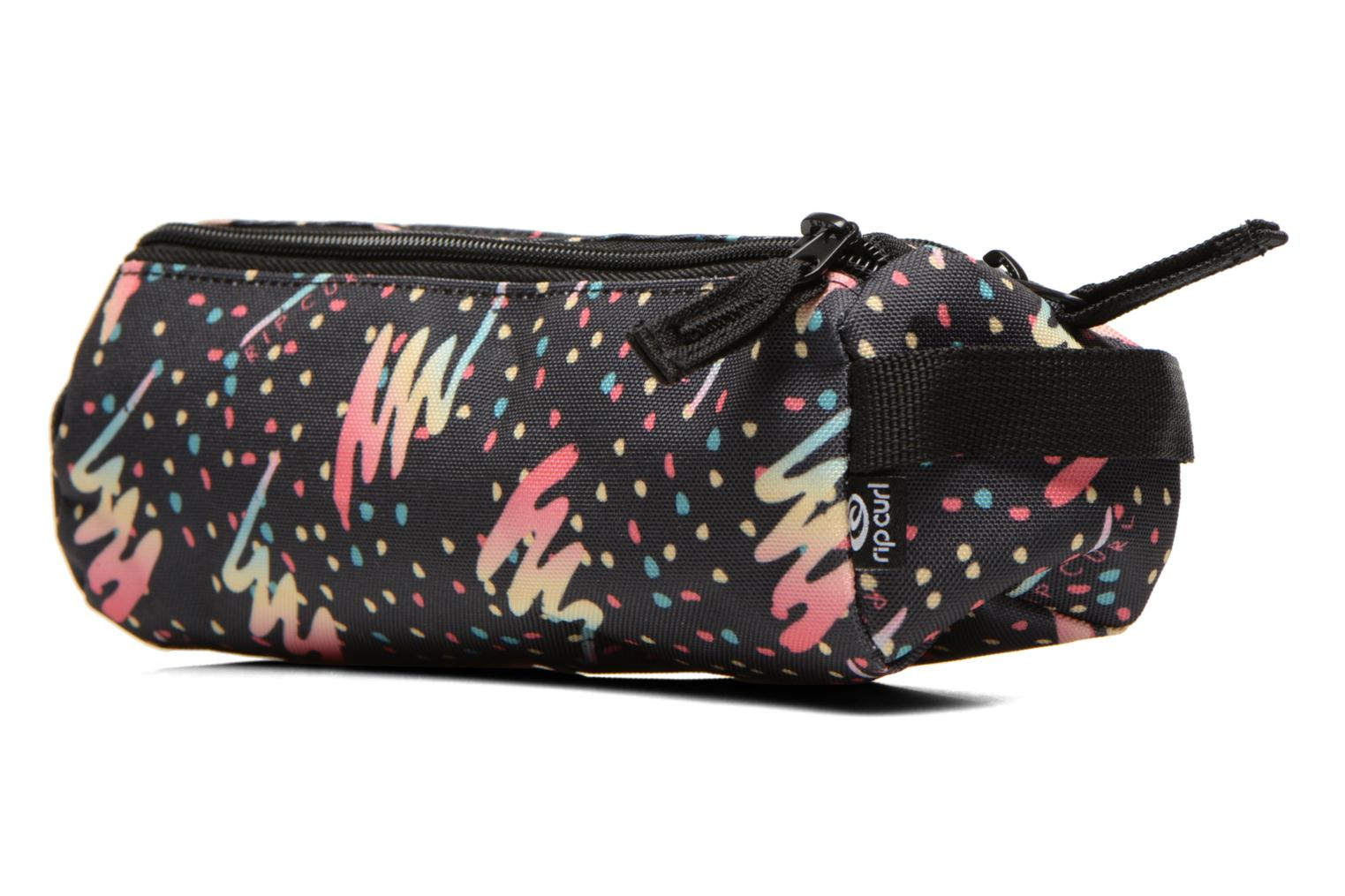 Double Pencil case Dots Dark blue 3155