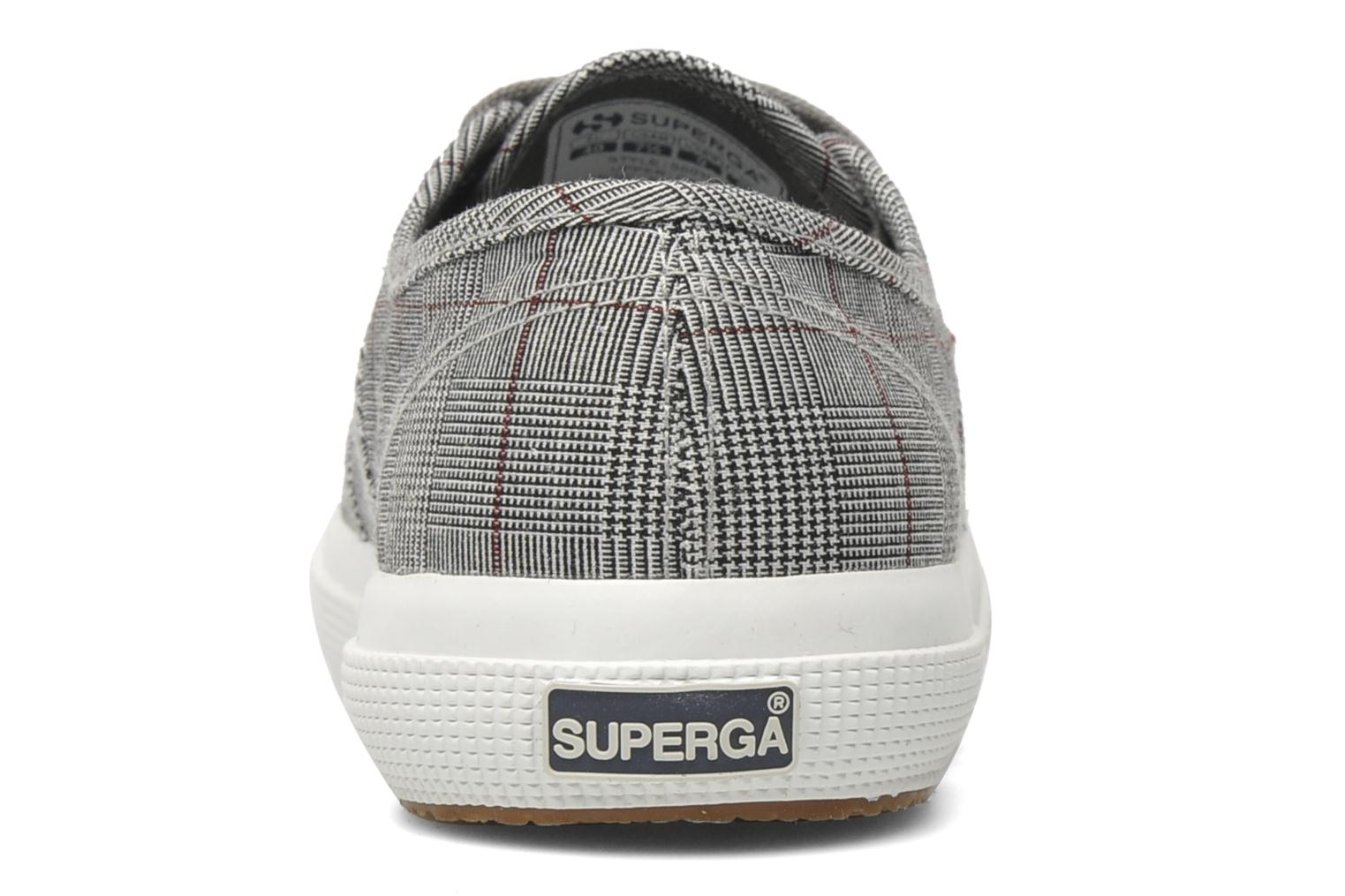 Deportivas Superga 2750 GALLESU Gris vista lateral derecha