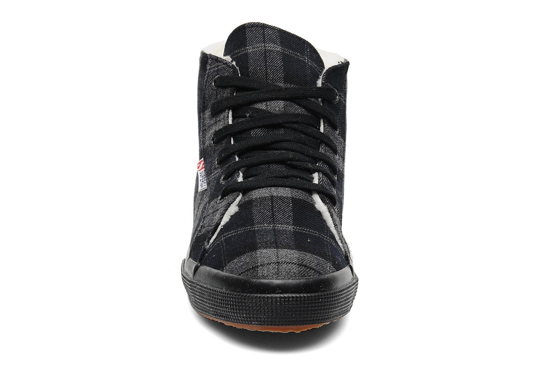 Sneaker Superga 2095 TWEEDBINU grau schuhe getragen