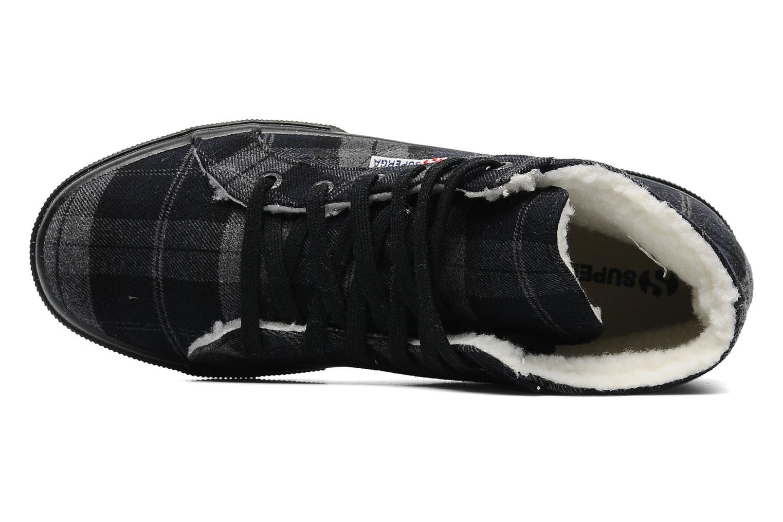 Sneaker Superga 2095 TWEEDBINU grau ansicht von links