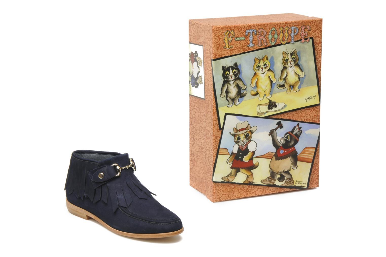 Stiefeletten & Boots F-Troupe Fringy blau 3 von 4 ansichten