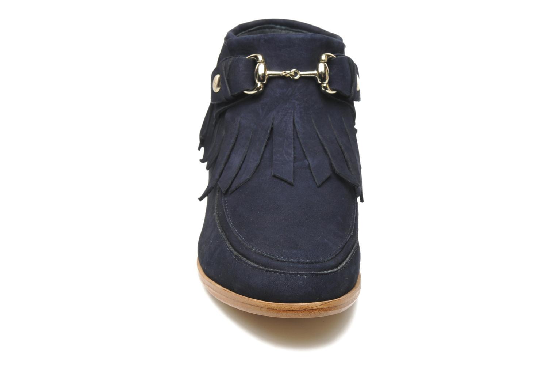 Stiefeletten & Boots F-Troupe Fringy blau schuhe getragen